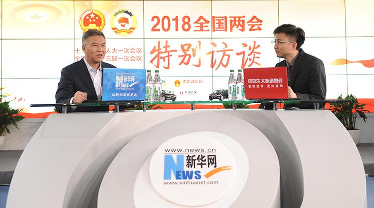 蔣衛平:中國在新能源使用方面是引領者