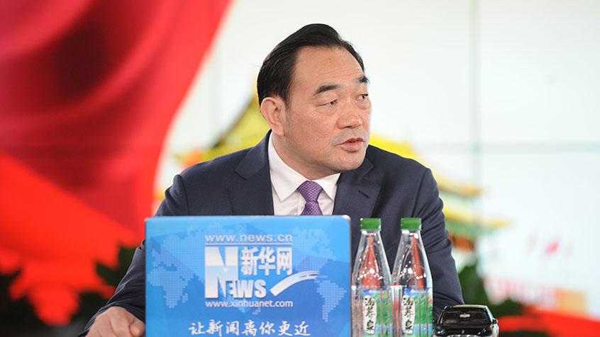 周鐵根:建設淮海經濟區中心城市是徐州的發展定位