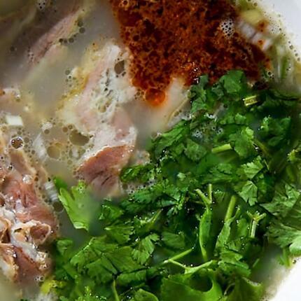 冬天,從一碗羊肉湯開始......