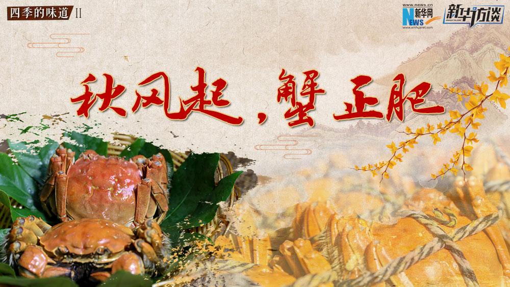 秋风起,蟹正肥