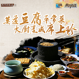 莫道豆腐平常菜,大厨烹成席上珍
