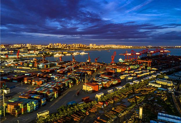 中國對外貿易的高質量發展為海南創造重要機遇和條件