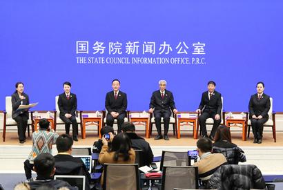 國新辦舉行檢察係統先進代表與中外記者見面會