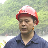 上遊河流漲水 重慶酉酬水電站開啟5個閘門泄洪