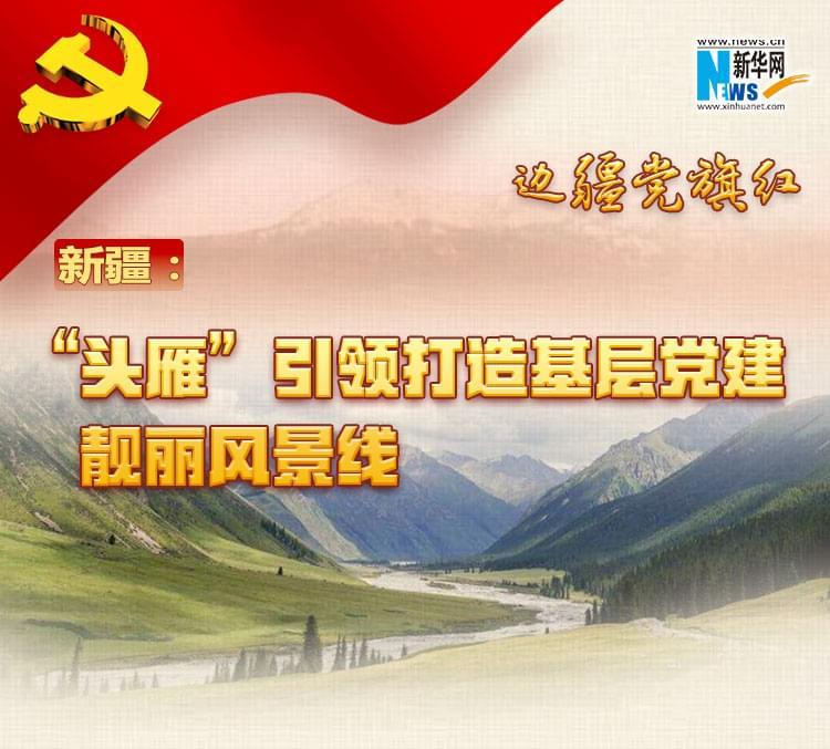 """新疆:""""头雁""""引领打造基层党建靓丽风景线"""