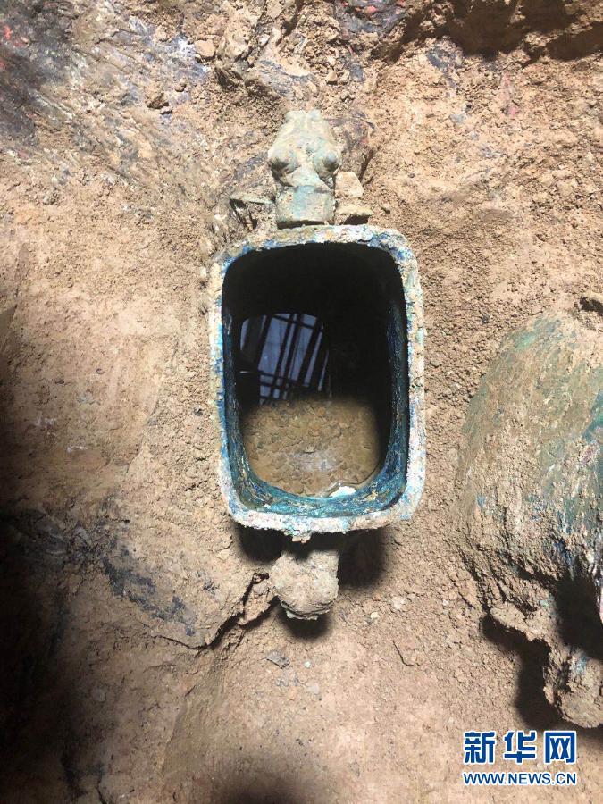 已证实:山西北白鹅墓地铜壶内装有果酒遗存