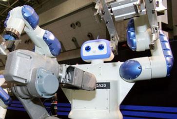 工業機器人從科幻走進現實