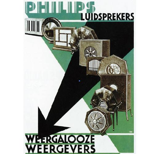 1924年:飛利浦開始生産無線電子管。並在1927年發布了第一個完整的無線電接收器……【點圖查看詳情】