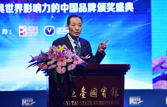 中華全國新聞工作者協會黨組書記翟惠生致辭
