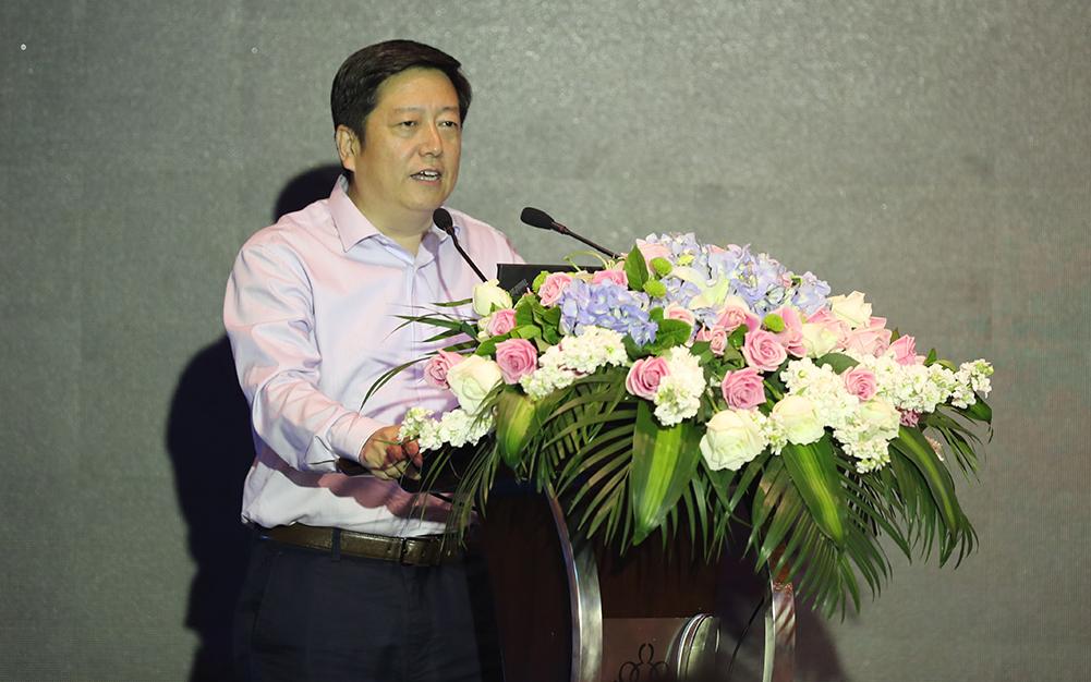 質檢總局質量管理司司長黃國梁致辭
