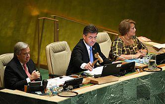 第72屆聯合國大會舉行一般性辯論