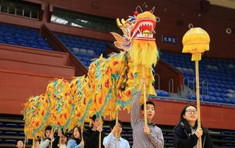 浙江大學開設舞龍舞獅課