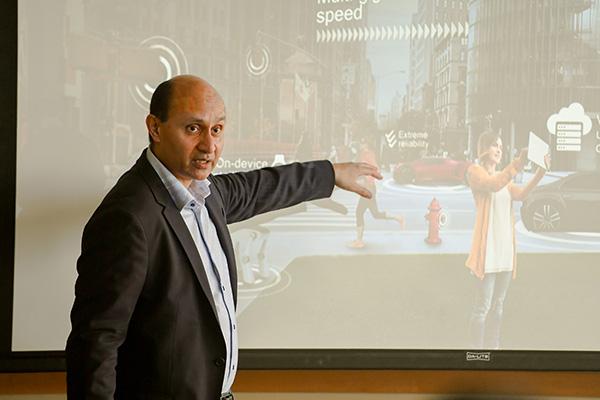 馬德嘉:5G將給工業界帶來革命