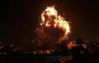 以軍打擊加沙多地目標