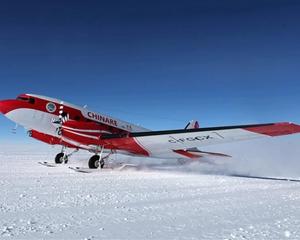 中國固定翼飛機探測南極