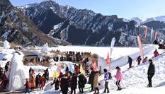 新疆天池:冬季旅遊持續增溫