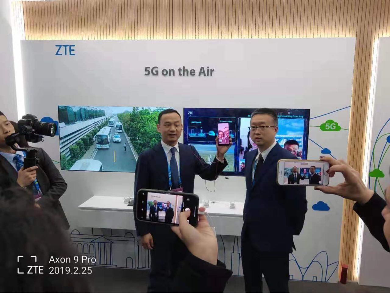 中興通訊聯合意大利Wind Tre、Open Fiber打通首個跨越地中海的5G智能手機視頻電話
