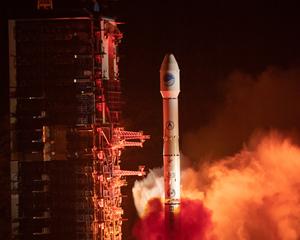 我國成功發射北鬥導航衛星