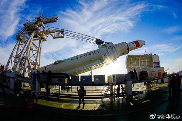 """""""一箭七星"""" 中國航天完成首次海上發射"""