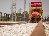 中老鐵路鋪軌通過第一座隧道
