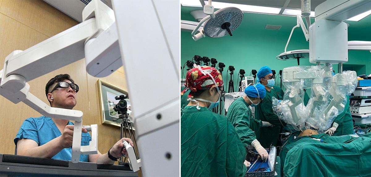 青島大學附屬醫院完成一例5G超遠程泌尿外科手術(組圖)