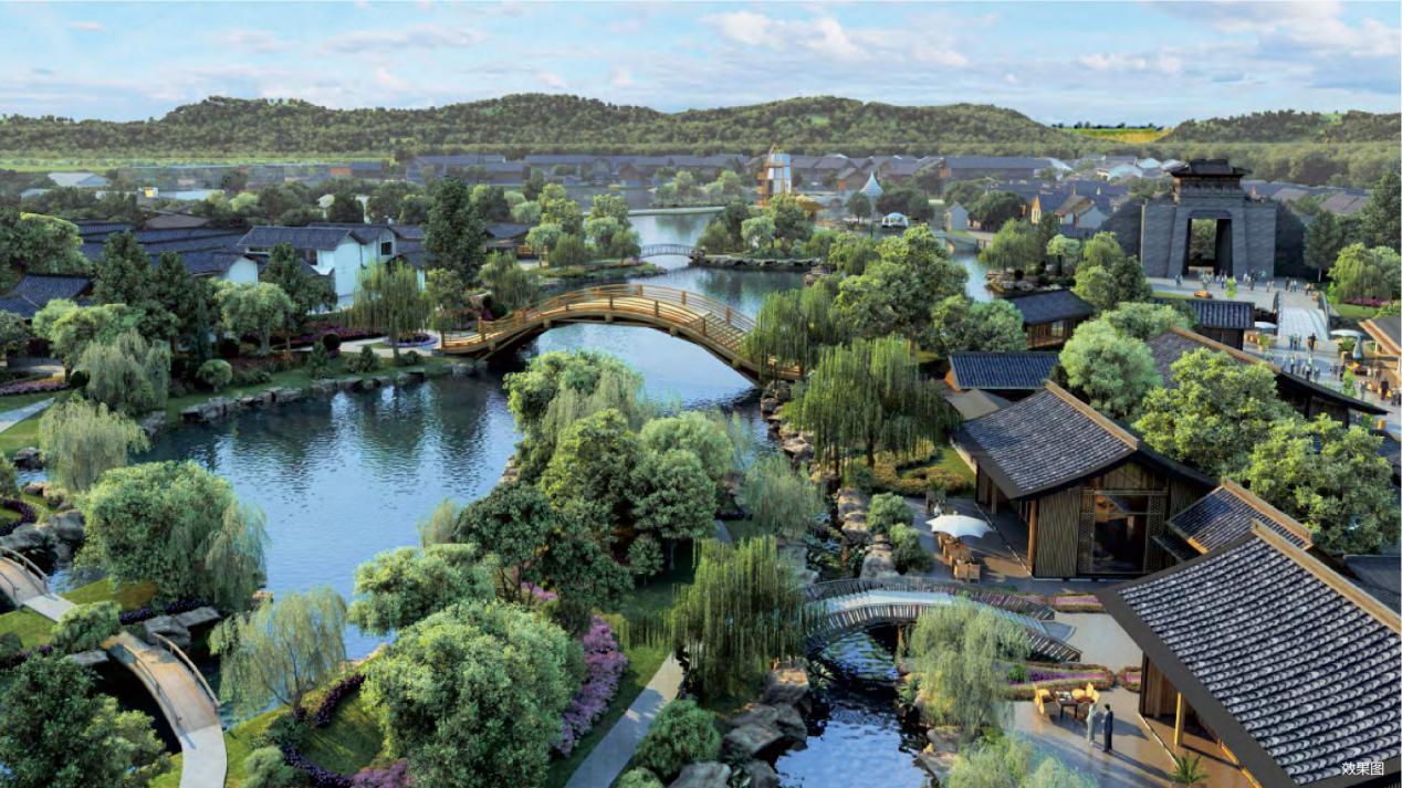 環球融創曹山未來城 打造中國民宿群落新封面