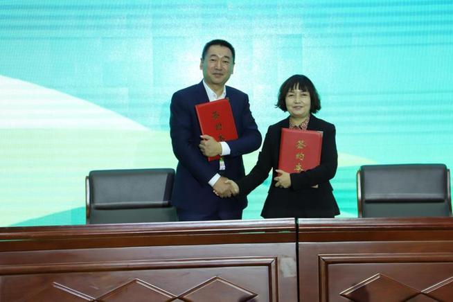 敖漢小米與新華社民族品牌工程啟動專項合作