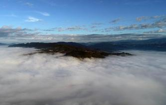 雲南瀾滄:壯觀的景邁山雲海