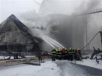 山東臨沂一化工企業發生爆炸事故造成8人死亡 明火已被撲滅