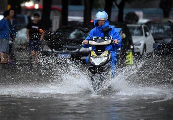 北京發布暴雨黃色預警信號