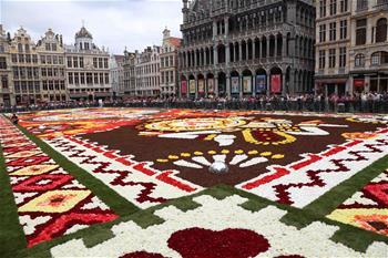 布魯塞爾鮮花地毯