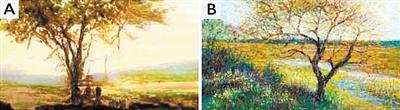 """工智能技术AI可创作与人类画作""""难以分别""""的艺术品"""
