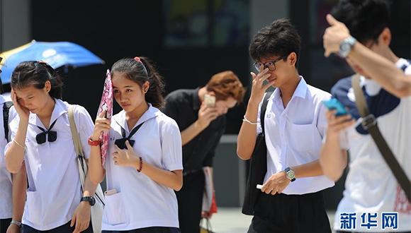 泰國遭受高溫侵襲