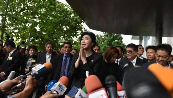 身陷大米收購案 泰國前總理英拉銀行賬戶被凍結