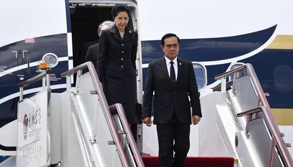 泰國總理巴育抵達廈門