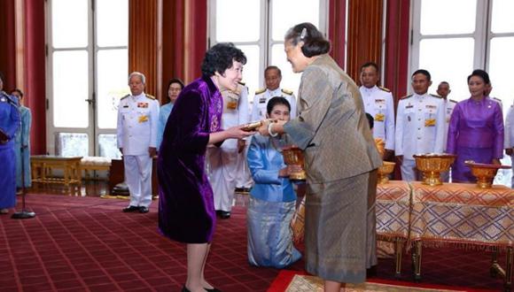 中國護理專家吳欣娟在泰國獲獎