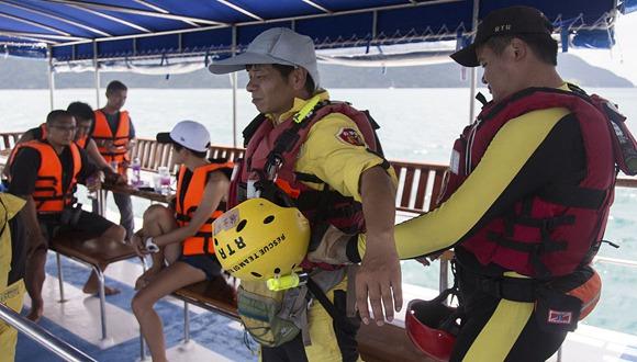 泰國沉船最新進展:42人遇難14人失蹤