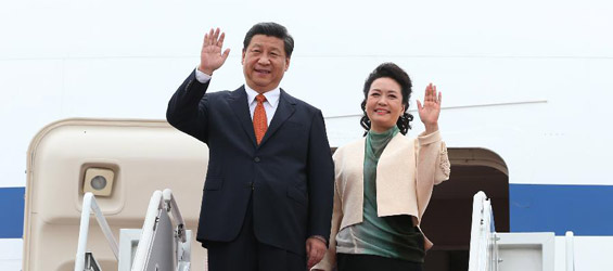 Chinese president arrives for state visit to S. Korea