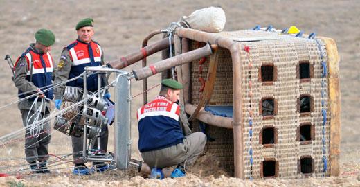 土耳其熱氣球事故致中國遊客1死4傷