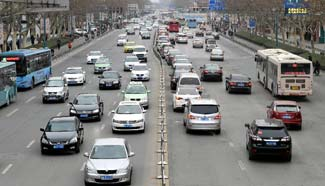 Car ownership tops 154 million in China in 2014