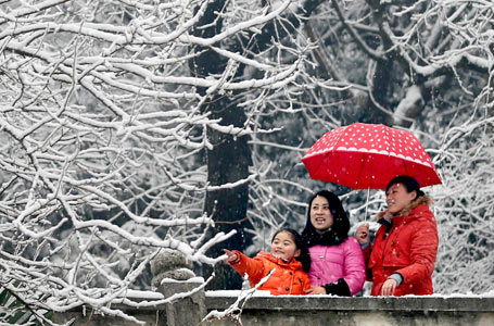 我國中東部迎今年以來持續時間最長降雪