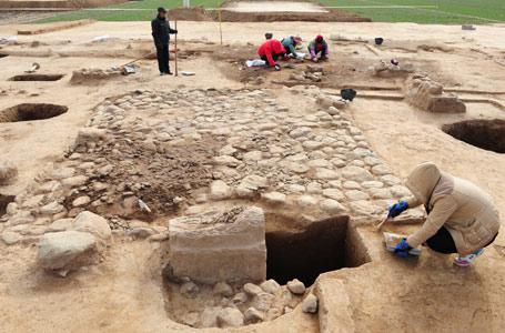考古學家首次發掘出西周時期社祭建築