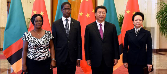 China, Zambia vow to further promote ties