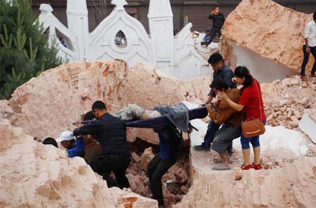 尼泊爾發生8.1級地震