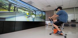π动骑行交互体验虚拟世界