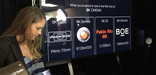 京东方(BOE)8K显示屏进军好莱坞