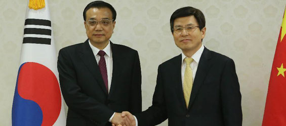 China, S. Korea vow to expand innovation cooperation