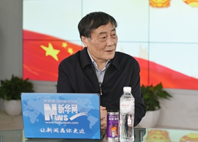 宗慶後做客新華網兩會訪談直播間