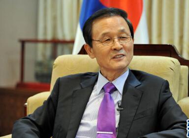 韓國駐華大使金章洙獨家訪談