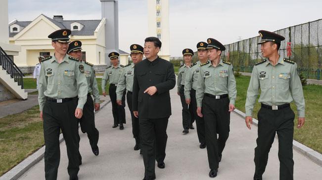 習近平視察駐黑龍江基層部隊